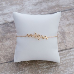 LIVIANOSE GOLD-PLATED BRACELET
