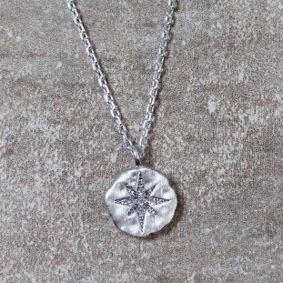 ERYTHEOSE SILVER NECKLACE NORTH STAR