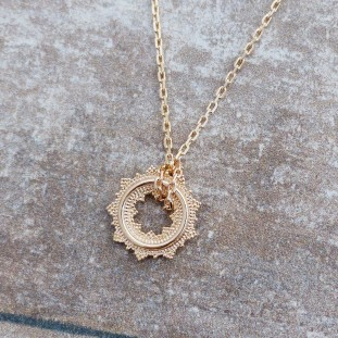 BOHEMIOSE GOLD-PLATED NECKLACE