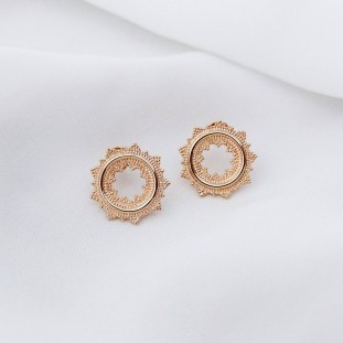 BOHEMIOSE GOLD-PLATED EARRINGS
